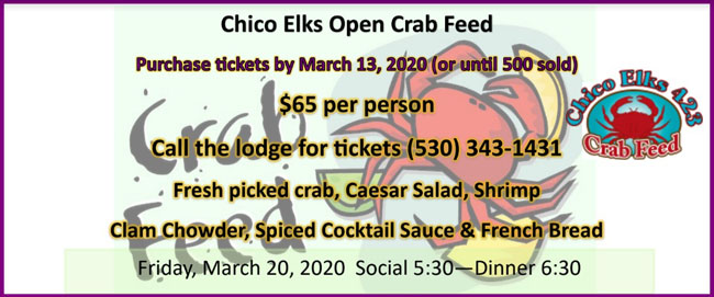 Open Crab Feed 2020