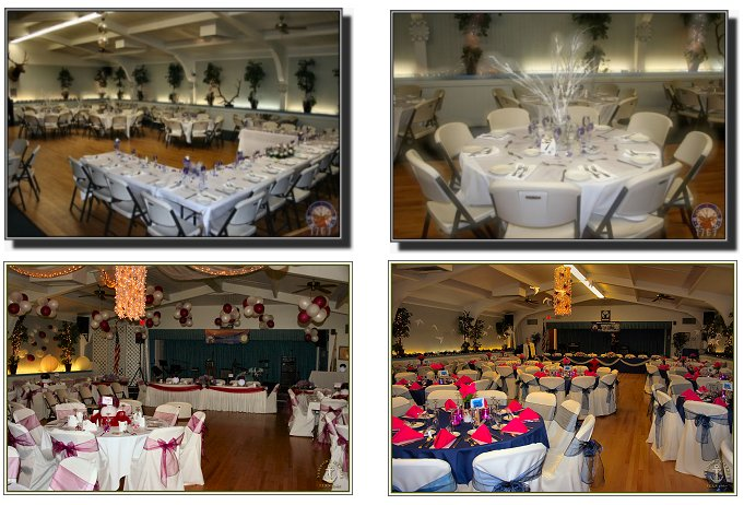 Delightful facilities for formal events.