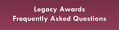 Click here for Legacy Application FAQs
