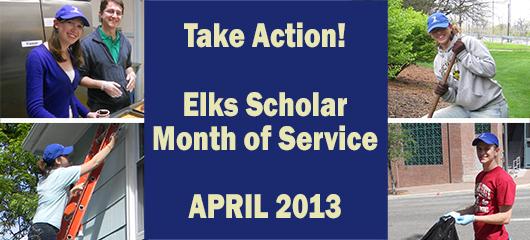 Elks National Foundation Month of Service