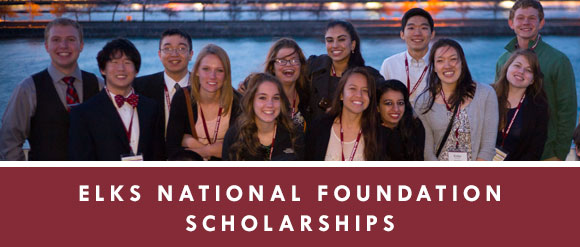 Elks National Foundation Scholarships
