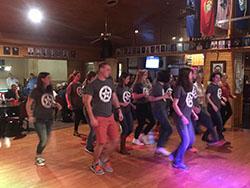 Scholars Line Dancing