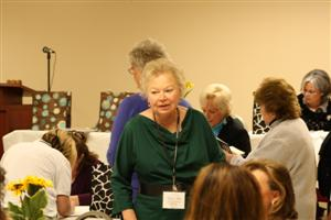 Fran Akin at the Ladies Luncheon