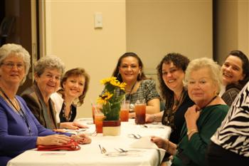 From left to right: Marilyn,Margret, Jennie, Jessie,Lisa,Lois, and Fran from Louisville Lodge #8.