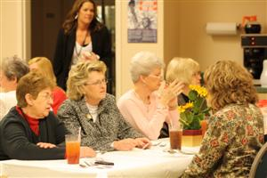 More pictures from the Ladies Luncheon, ladies from Lyndon Lodge and Sue Black from Louisville Lodge 8.