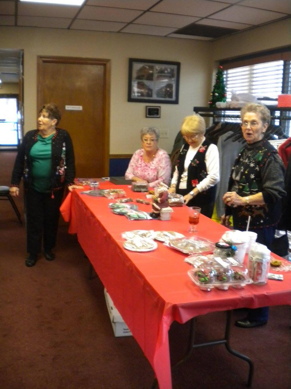The DOES bake/bakeless sale. It was a sellout! Thanks for supporting the DOES.