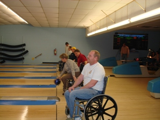 Wheelchair Bowling Event to Benefit Camp Wawbeek Camperships