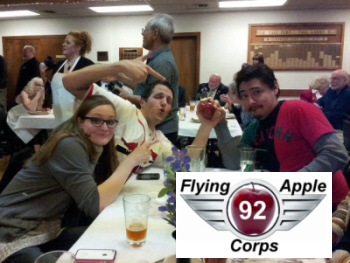 The Lynnwood Elks - Dan, Brittany & Jesse Recovering the Apple!