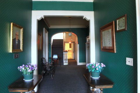 Lodge Entry way