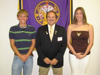 Jared Akers And Jessica Eldridge from Middlesboro High School Receive Scholarships