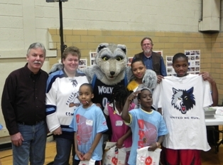 """Duluth ELKS ENF money helped co-sponsor this event """"Community Warm Up"""""""
