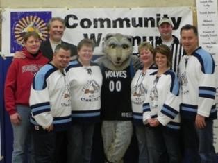 Community Warm Up Police & probation co-sponsor