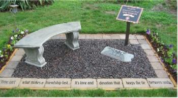 Mert Wheeler Memorial Garden, dedicated June 24, 2007