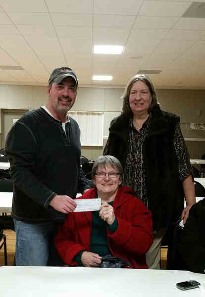 First Coverall Winner of our Thursday Night Bargo at the Stillwater Elks Lodge.