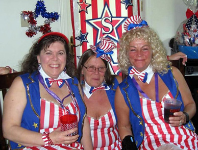 Uncle Sam's Groupies...