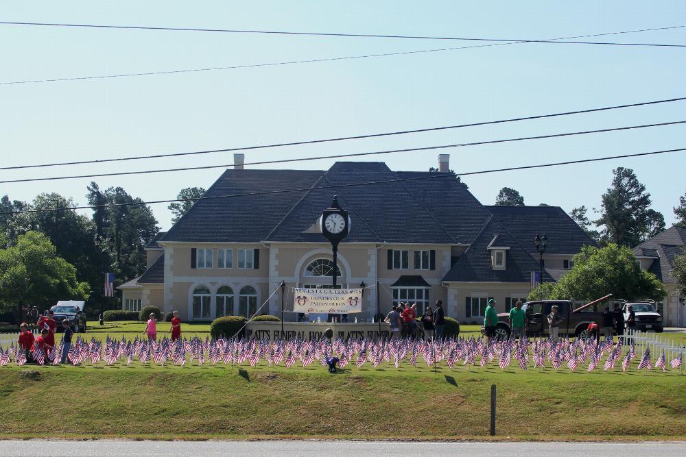 Memorial Display at Platts Funeral Home in Evans, GA