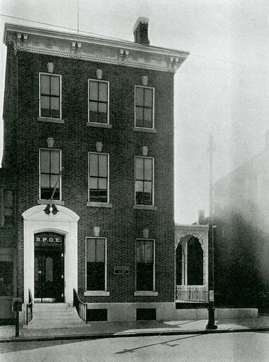 1905 - the year our lodge moved into this location.  125+ years later we still call this home.
