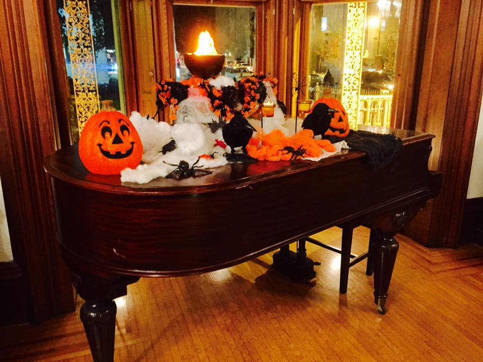 Halloween in the parlor