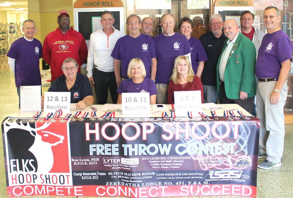 2017 Hoop Shoot Committee and Volunteers