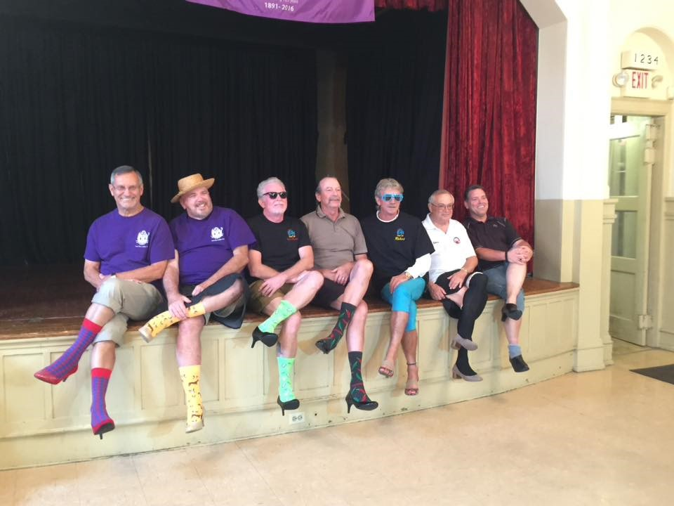 Elks in Espadrilles participated in the 2018 YWCA Walk a Mile in Her Shoes raising $830!