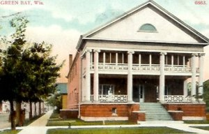 Green Bay Elks Lodge259 1902 to 1959.  The first stand alone lodge built in Wisconsin