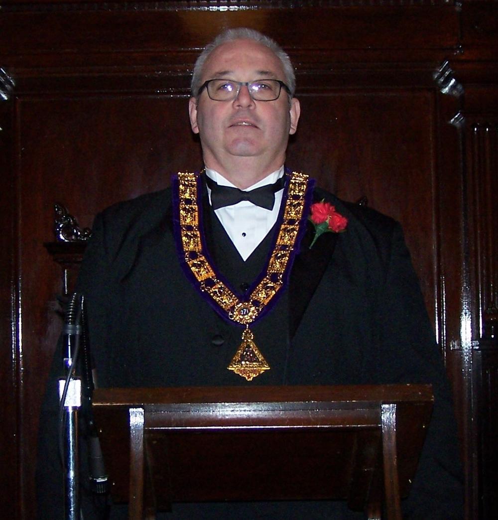 2015-16 Exalted Ruler, James Oldenburg