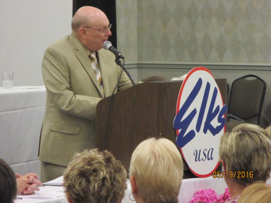 Bill Reedy Sr. at State Convention