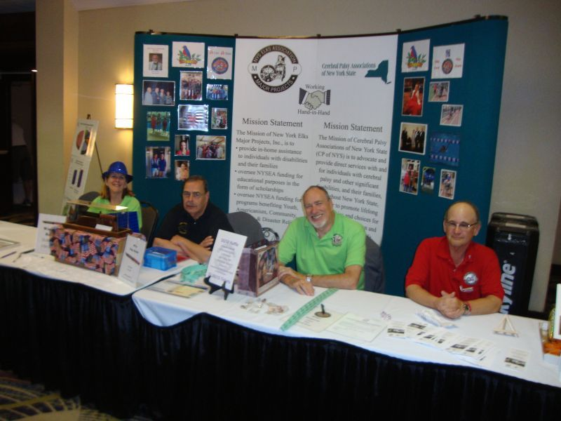 New York State Convention. District Deputy Carol Dillabough, Bill Chorley, Jim Dillabough and Jan Pashley