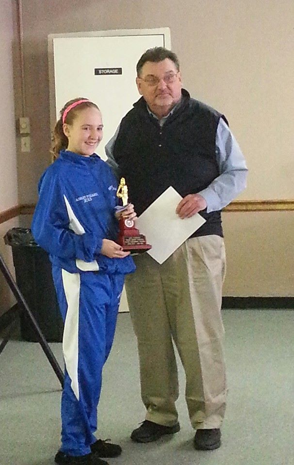 Ashley Pollard - Sponsored by Florence #314 2014 Ky State Hoop Shoot Champion Girls - 12-13 age group