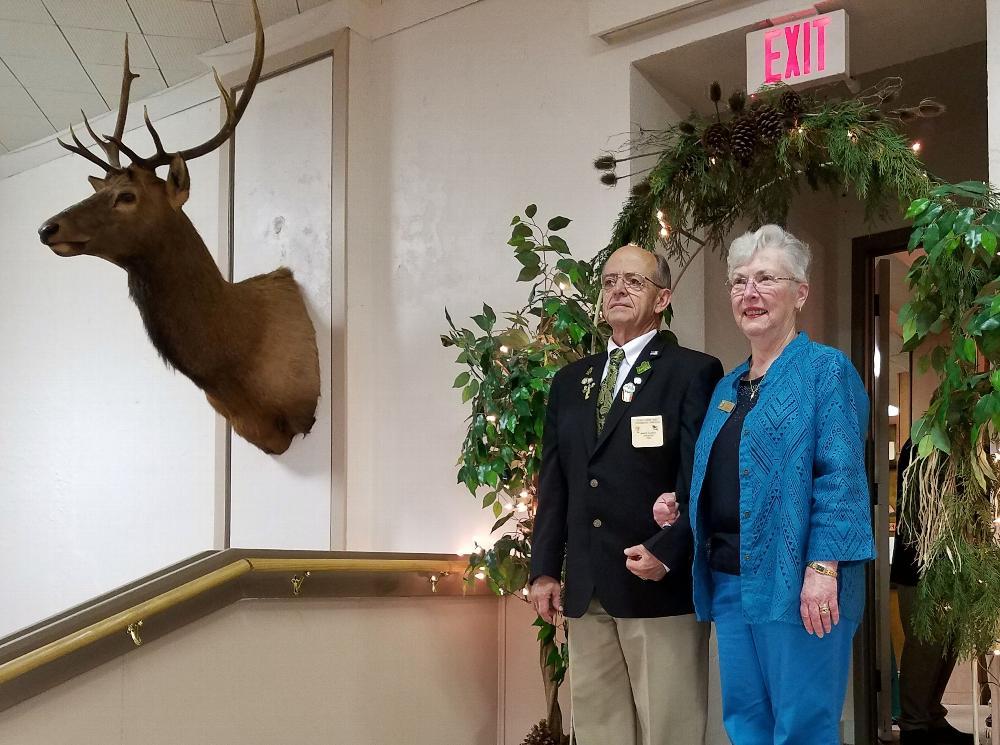 Inner Guard Jim Blasi and wife Linda