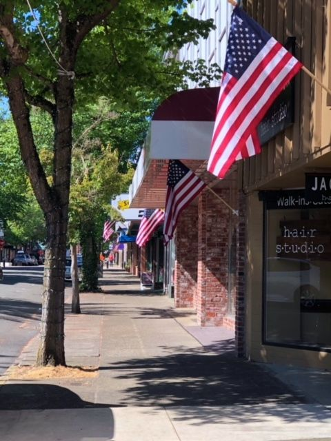 Jackson St. on Memorial Day