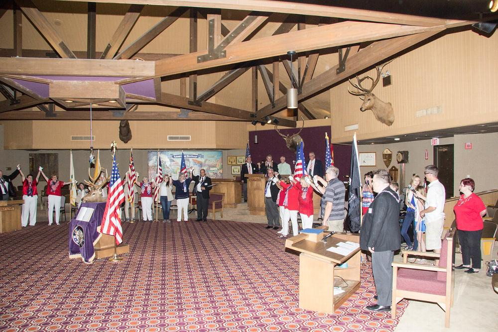 Flag Day At the Lodge