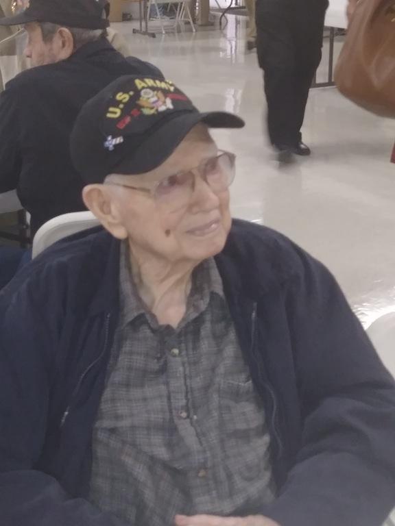 Lovell Goodwin, 101, WWII Veteran