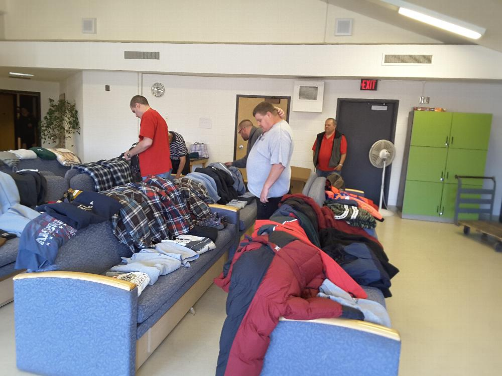 Sorting through the options at Kline  Hall