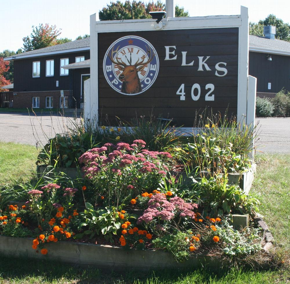 Elks Lodge Sign at corner of Westover and Stein Blvd.