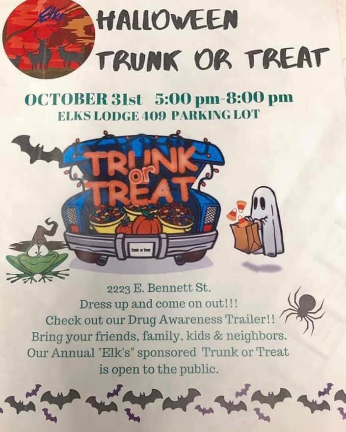 Annual Trunk or Treat