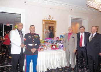2013 South District Christmas Party Toys for Tots