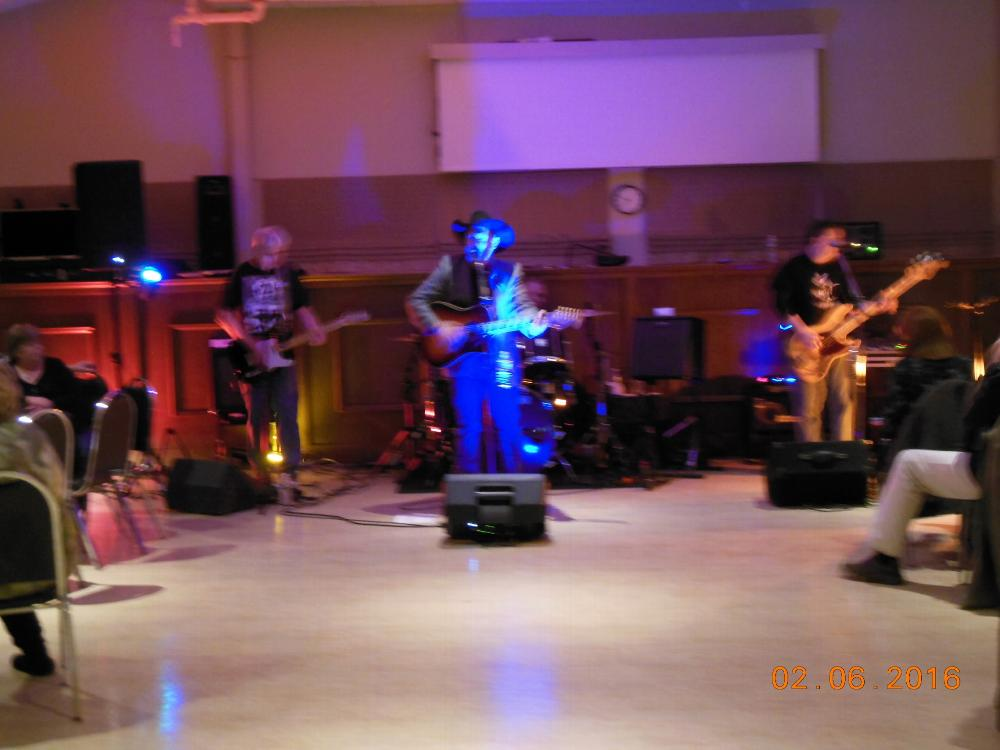 """The entertainment for the Southern Barbeque was Red Steller and """"The Workin Man Band""""  a very popular Burlington area. Everyone danced  and enjoyed the music throughout the evening. It was a great event, Great Food, Great Music and a Great turnout.  Plans are already in the works for next year."""