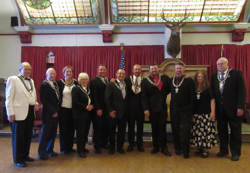 Officers 2019-2020 Elks #575