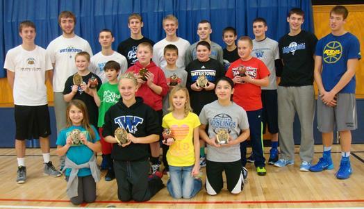 Hoop Shoot Winners - December 2013