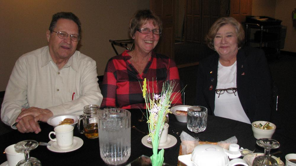 Dick & Donna Sislo - Superior #403 with newly minted PER Marilyn Gillies