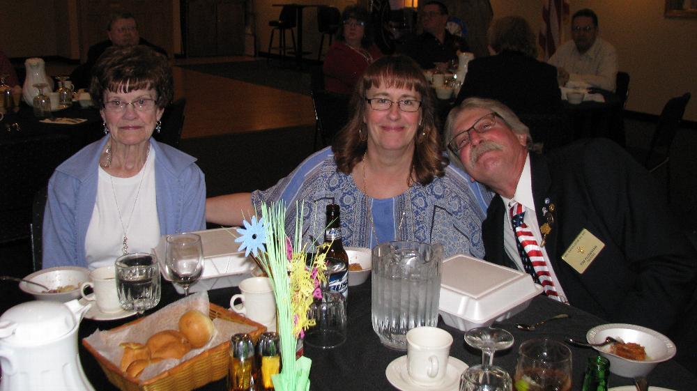 Pat Berg, Barb & Tim Plowman