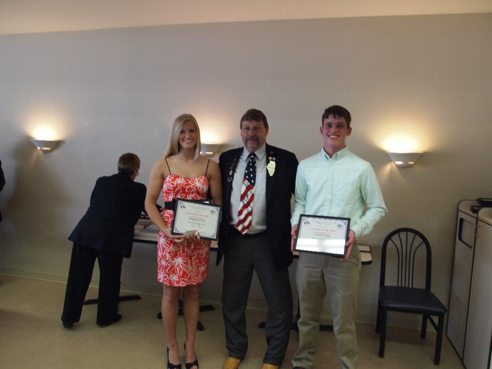 2014 Teens of the Year - Megan Foes, female Teen of the Year, Annawan HS Dr. Dennis Gerleman, IL Elks State 2nd Vice President Caleb Rux, male Teen of the Year, Galva HS Congrats to you both on being selected Lodge 724 Teens of the Year!