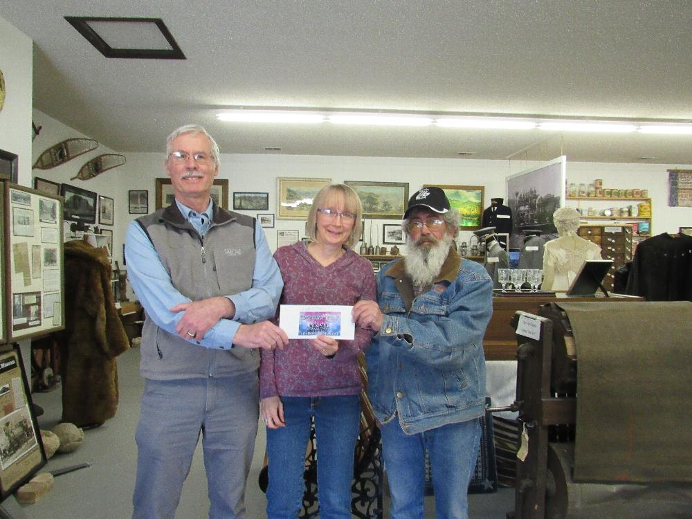 Salida Elks with donation to the Salida Museum from the Anniversary Grant Feb. 2018