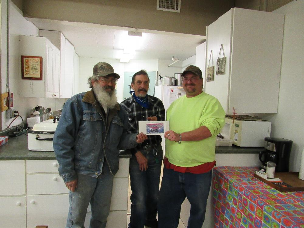 Salida Elks Lodge with donation to the Lighthouse of Salida Soup Kitchen from the Anniversary Grant