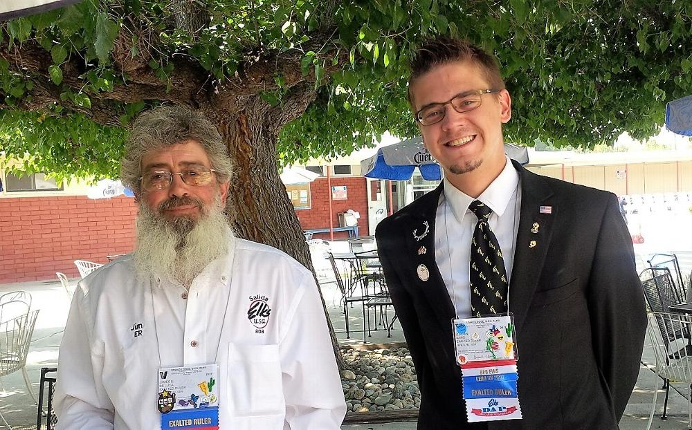 Grand Lodge 2017 in Reno ER James DeLuca with ER from Flora,Illinois