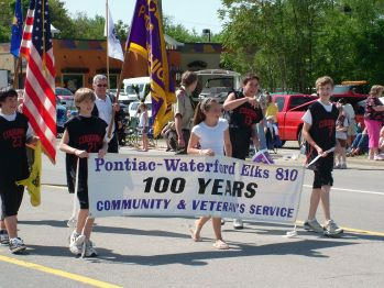 Our Troop 810 Boy Scouts in the Memorial Day Parade