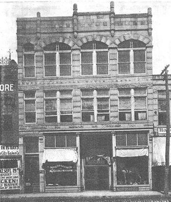 Clinton Elks Lodge #1034 Circa 1909