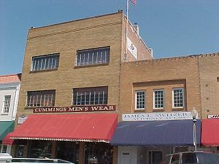 Our Old Lodge on the Historic Downtown Clinton, Missouri Square.
