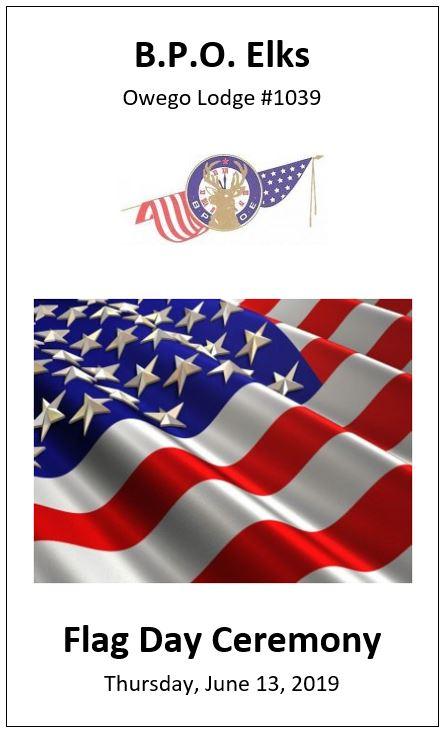 Flag Day Program